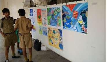 Delphic Artwall banner