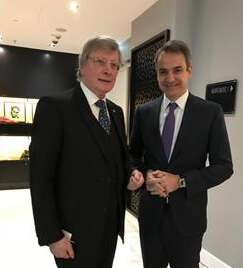 Meeting with Prime Minister of Greece Mr. Kyriakos MITSOTAKIS at the German-Greek Economic Forum Berlin